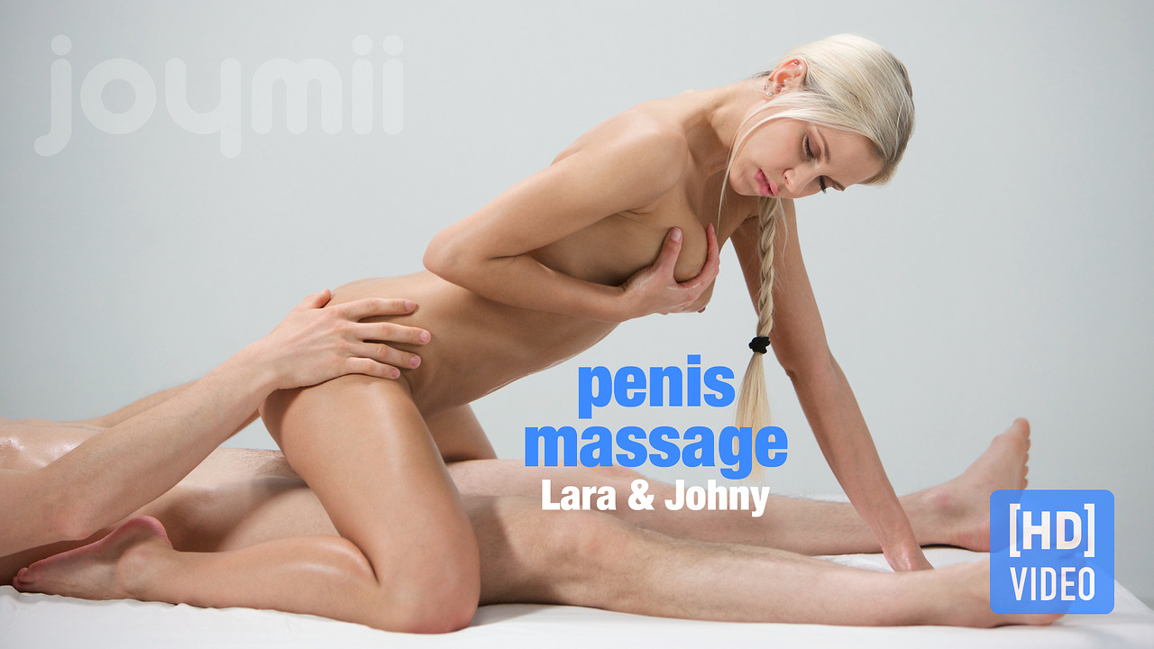 Joymii - Johny and Lara - penis massage