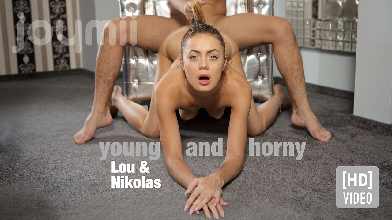 Joymii - Lou and Nikolas - young and horny