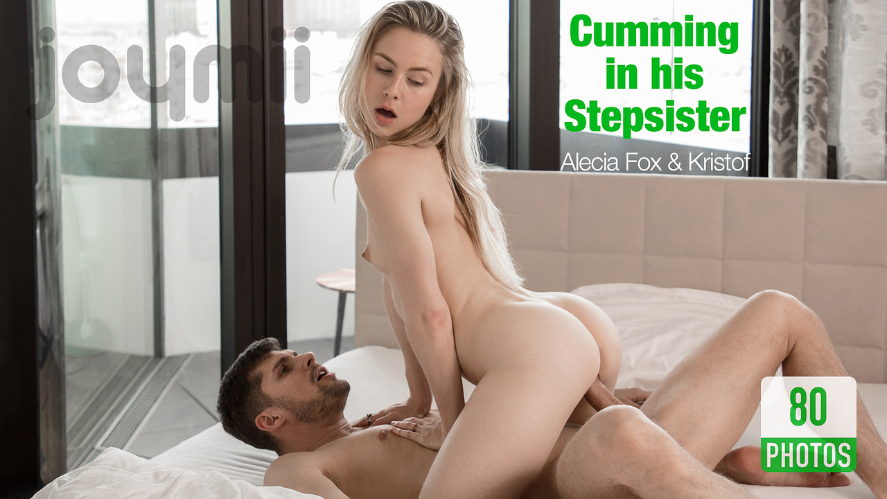 Cumming in his Stepsister