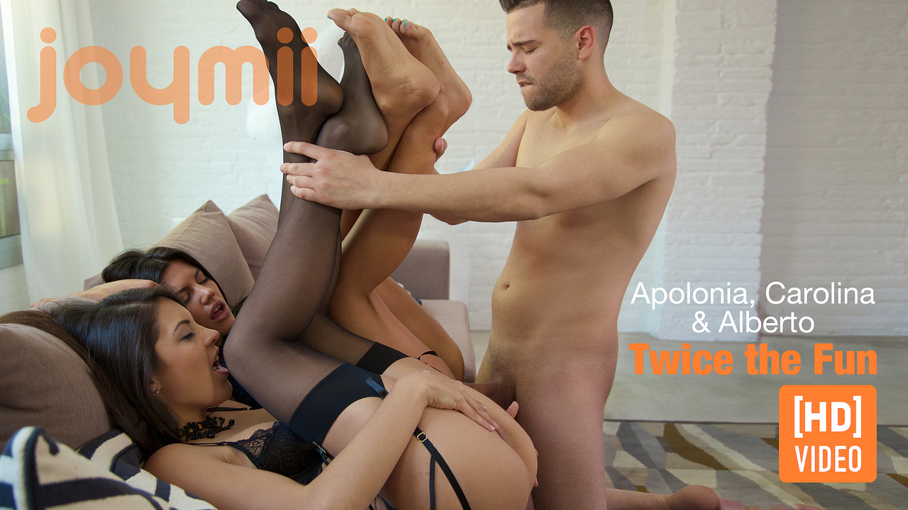 Joymii - Alberto, Apolonia and Carolina - Twice the Fun