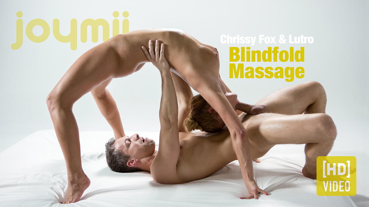 Joymii - Chrissy Fox and Lutro - Blindfold Massage